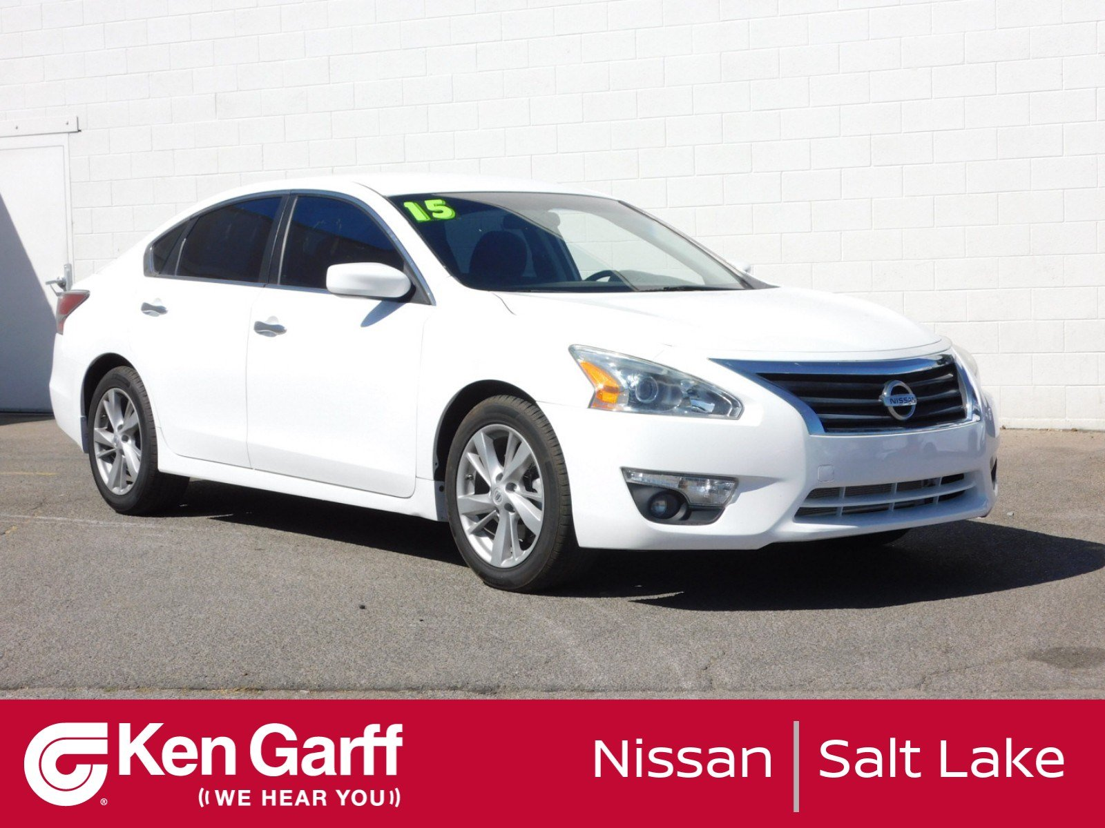 ... Front Wheel Drive 4dr Car. Pre Owned 2015 Nissan Altima 2.5 SV
