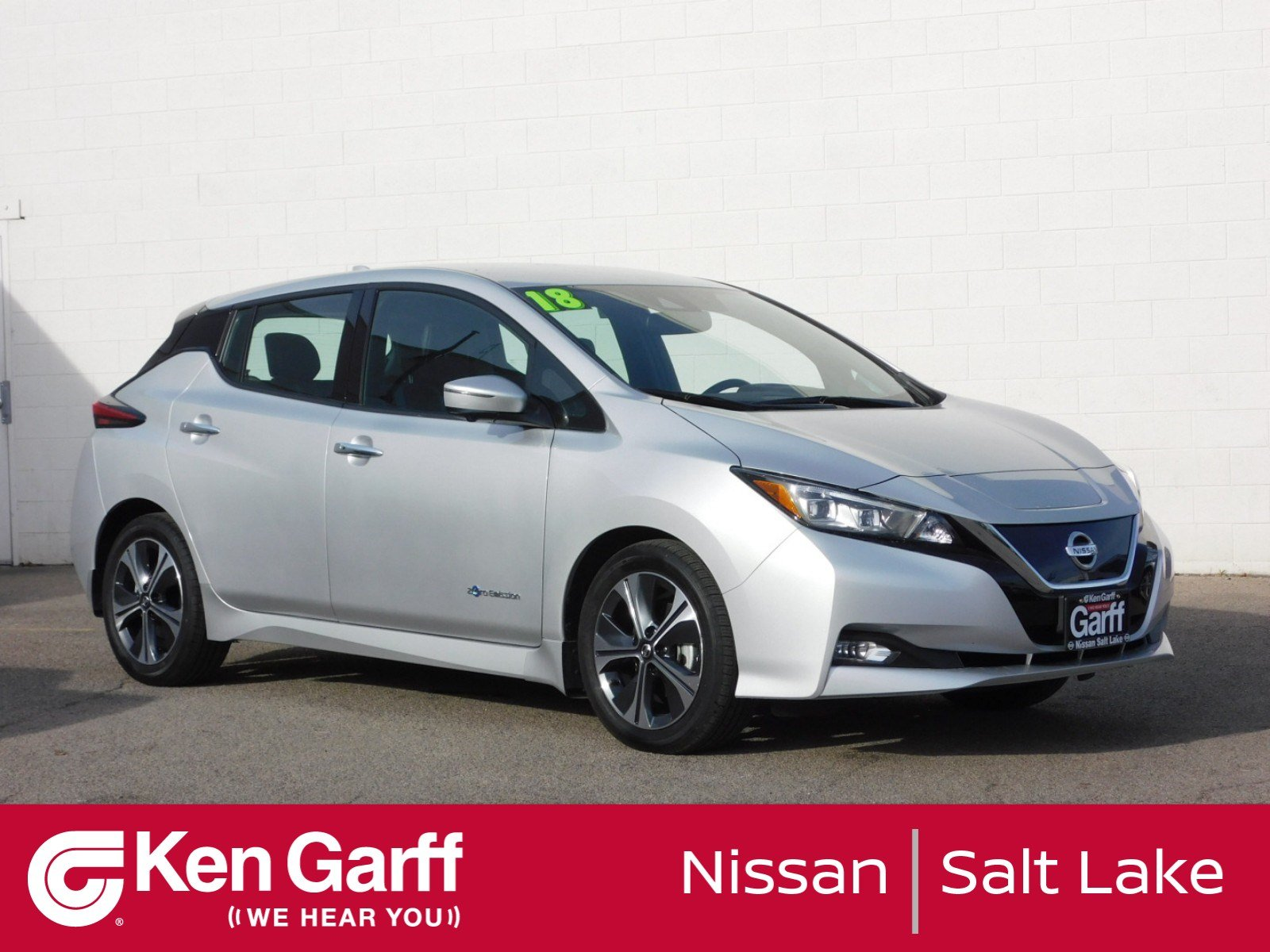 Certified Pre-Owned 2018 Nissan LEAF SL