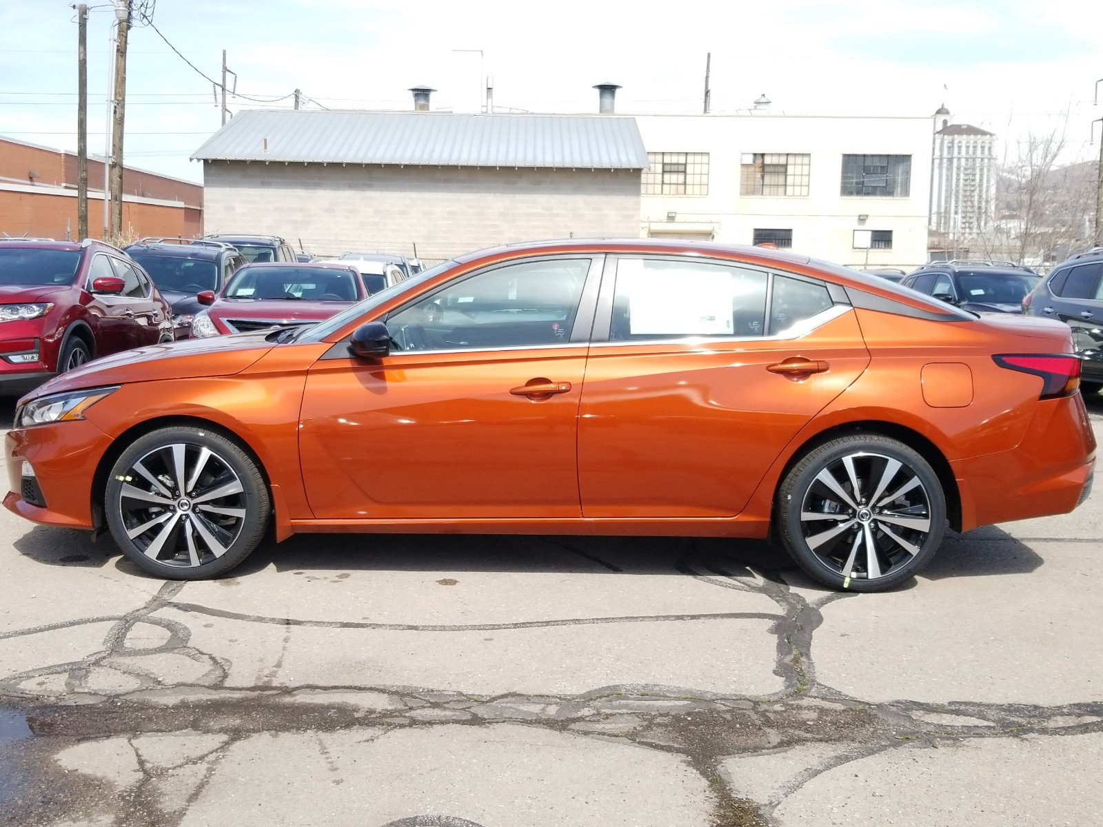 New 2019 Nissan Altima 2.5 SR 4dr Car in Salt Lake City ...
