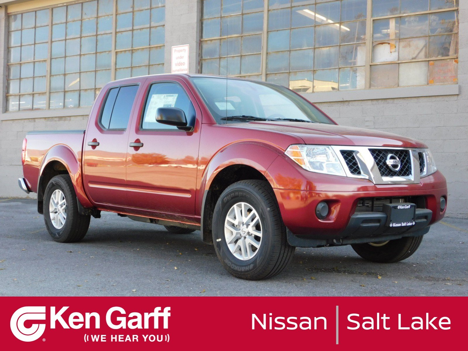New 2019 Nissan Frontier Sv Crew Cab Pickup In Salt Lake City