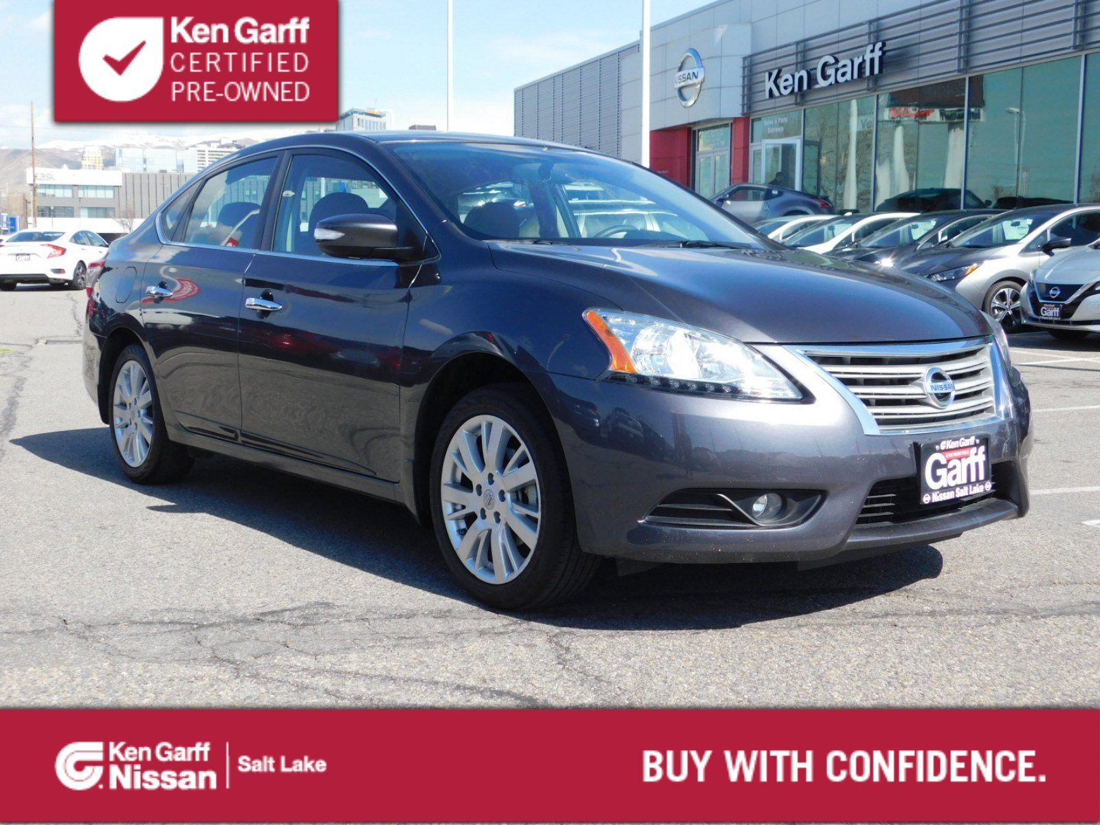 Certified Pre-Owned 2015 Nissan Sentra SL