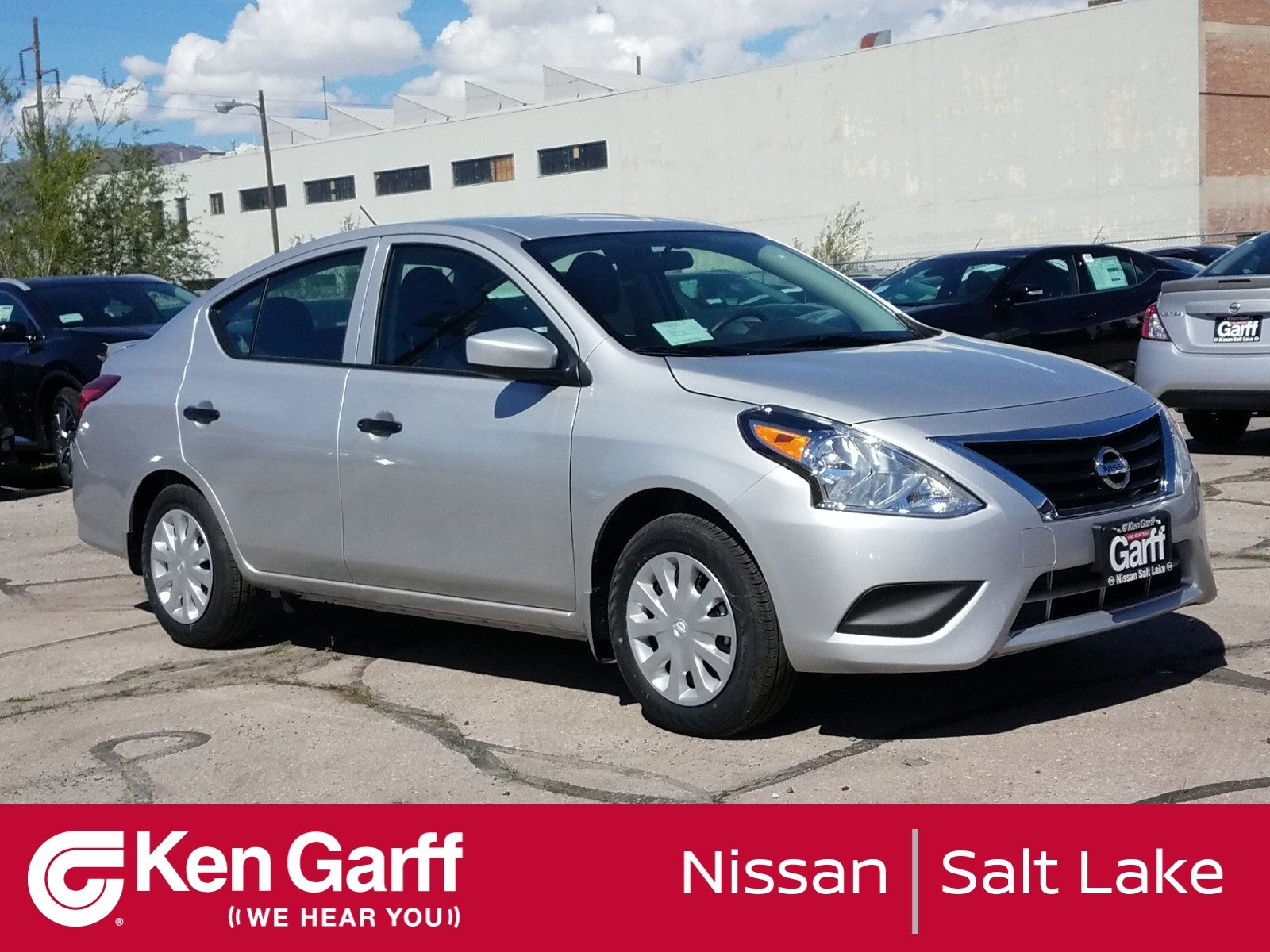 New 2019 Nissan Versa Sedan S Plus