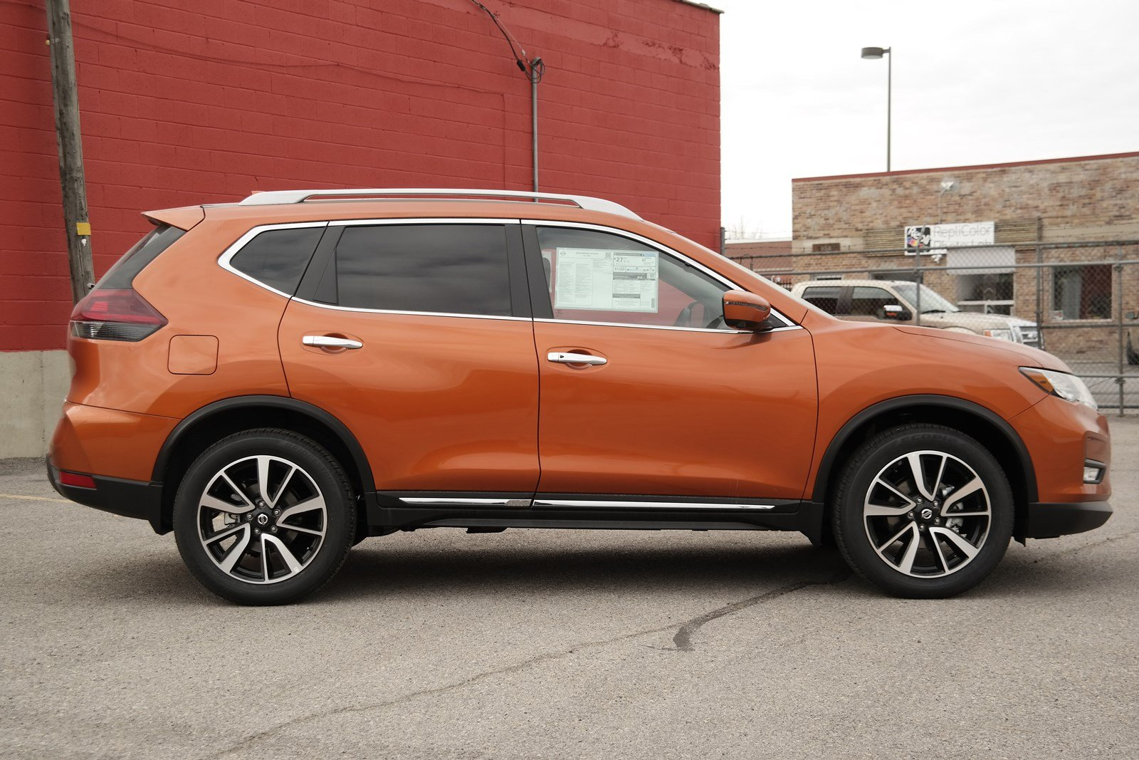 New 2020 Nissan Rogue SL Sport Utility in Salt Lake City ...