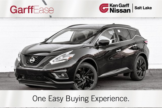 New 2018 Nissan Murano Sl 4d Sport Utility In Salt Lake
