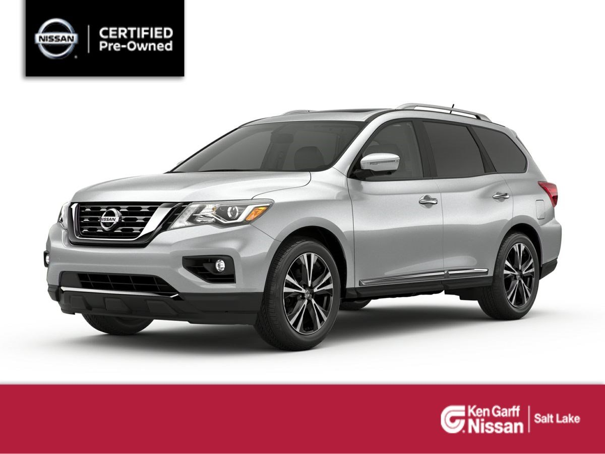 Nissan Certified Pre Owned >> Certified Pre Owned 2017 Nissan Pathfinder Platinum Sport Utility In