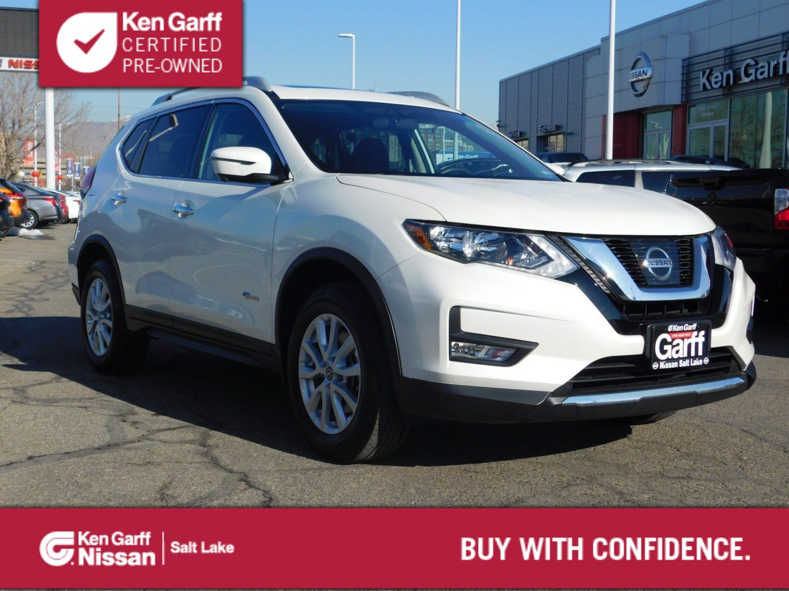 Certified Pre-Owned 2017 Nissan Rogue SV Hybrid