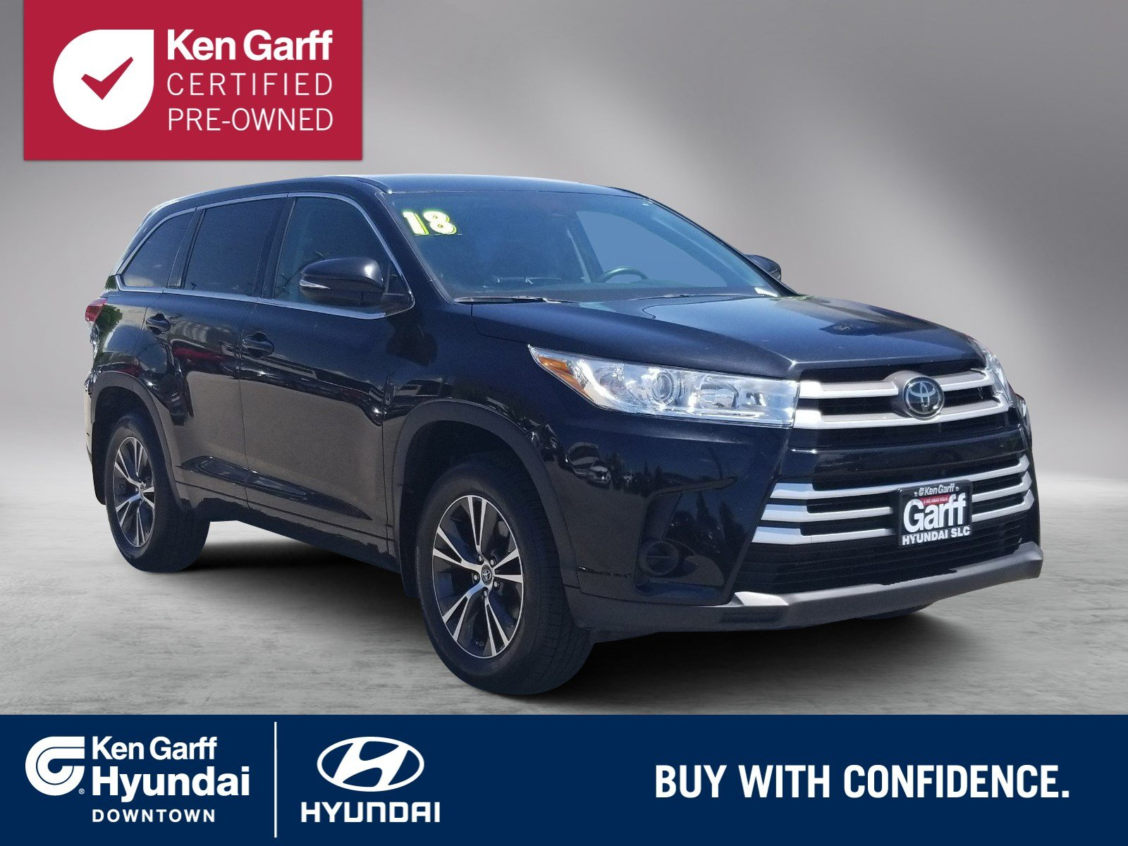 Certified Pre-Owned 2018 Toyota Highlander LE V6 AWD