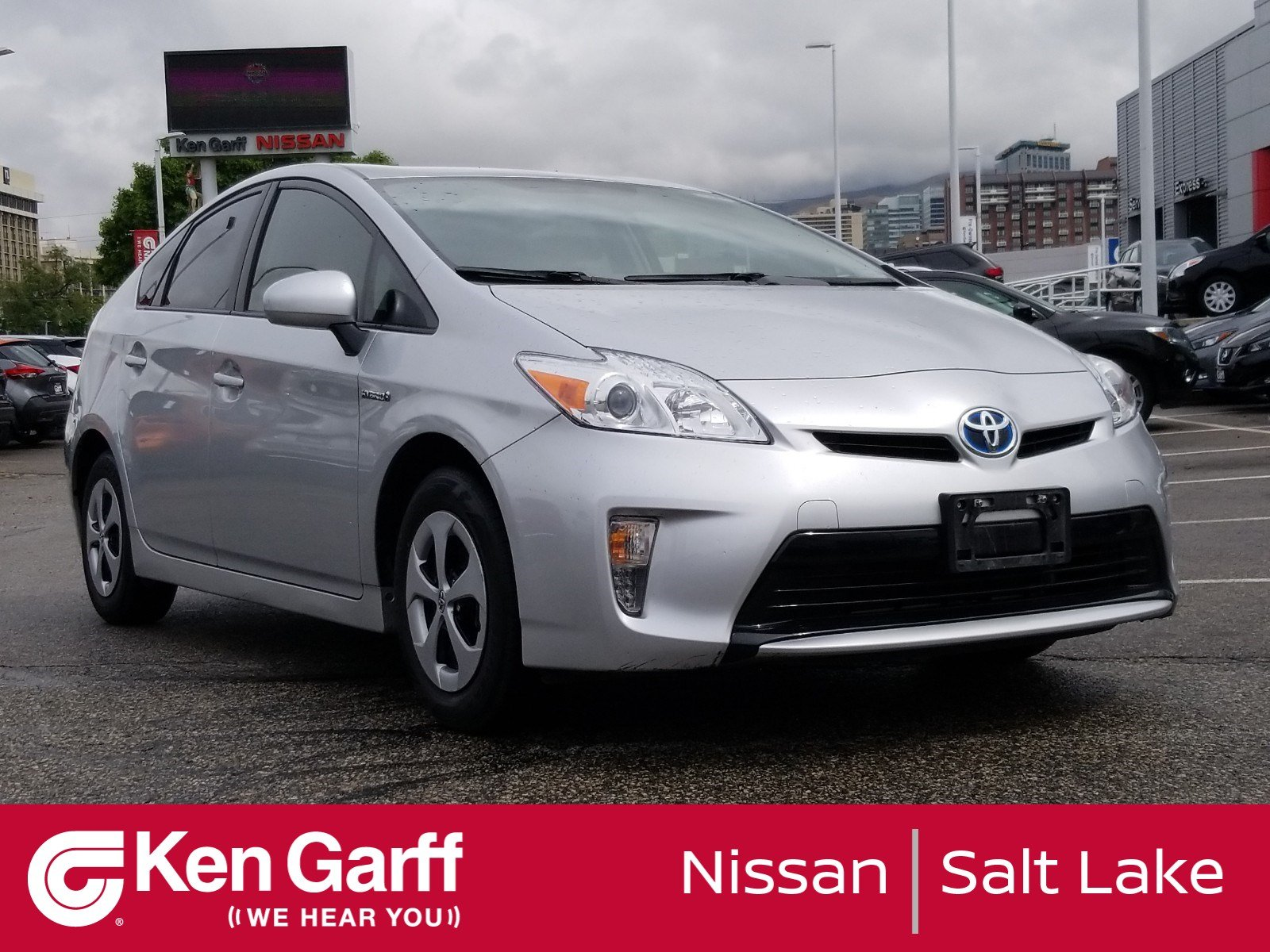 Lake City Toyota >> Pre Owned 2015 Toyota Prius Four Hatchback In Salt Lake City