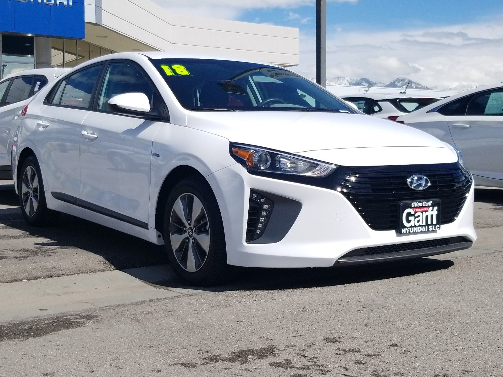 Certified Pre-Owned 2018 Hyundai Ioniq Plug-In Hybrid HATCHBACK