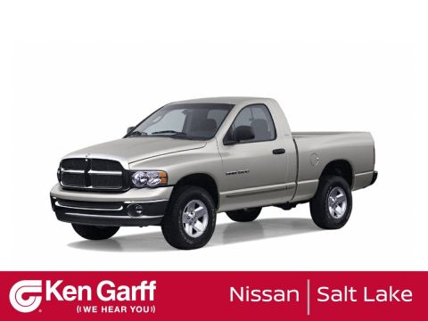 Pre-Owned 2002 Dodge Ram 1500 QUAD 140.5WB 4X4 ST